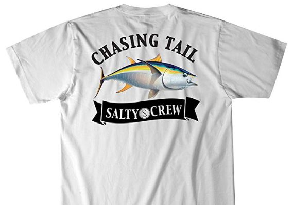 Salty Crew Sickle Fin Short Sleeve T Shirt