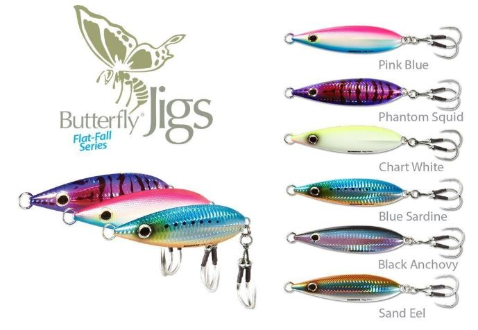 Shimano Flat Fall Jig Series