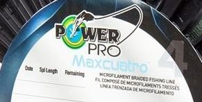 Power Pro Maxcuatro Spool