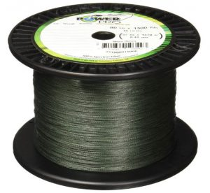Power Pro Spectra Moss Green