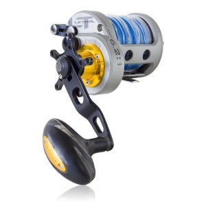 Star Drag Reel With Braided Fishing Line