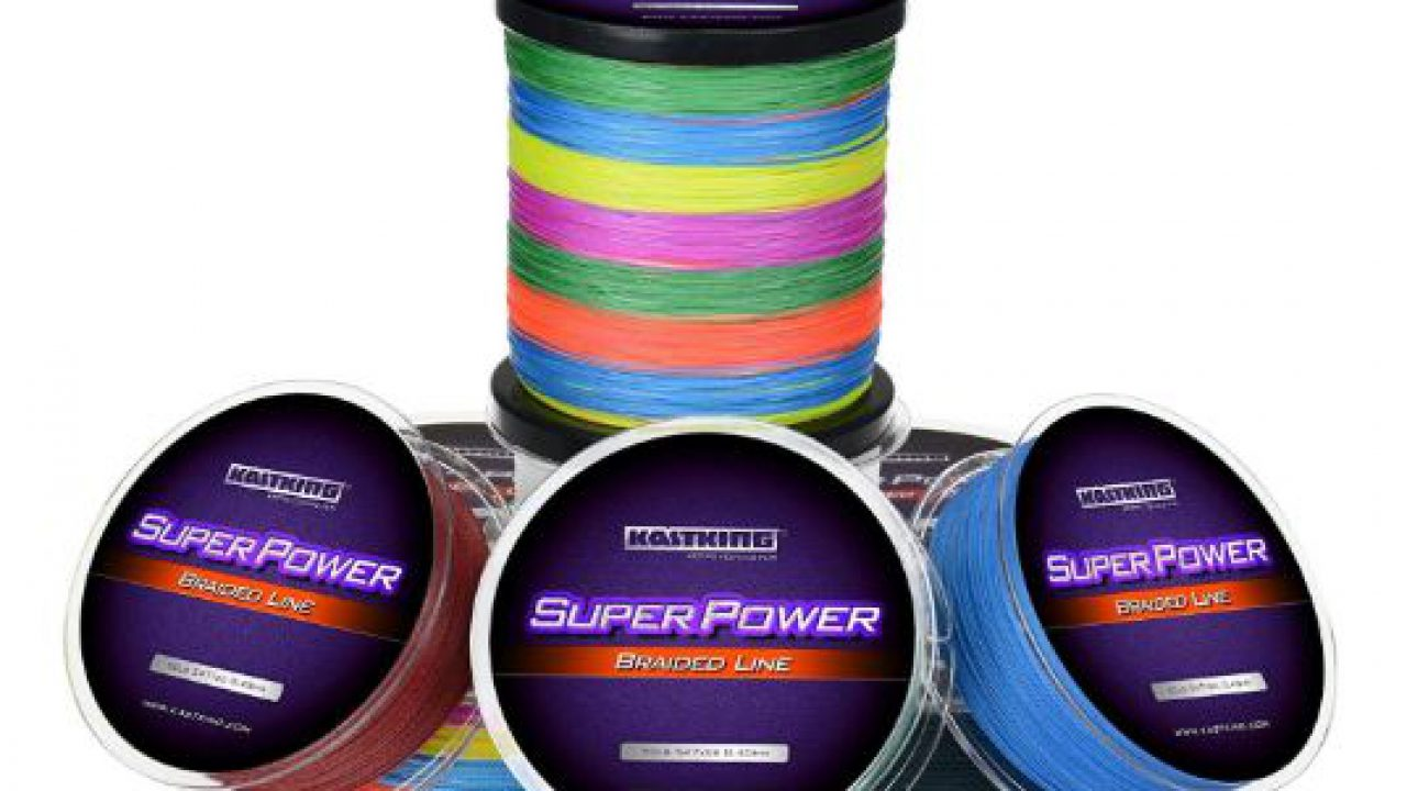 SuperPower Fishing Line Abrasion Resistant /& Braided Incredible Superline Lot