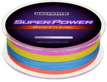 KastKing SuperPower Multicolored Braid