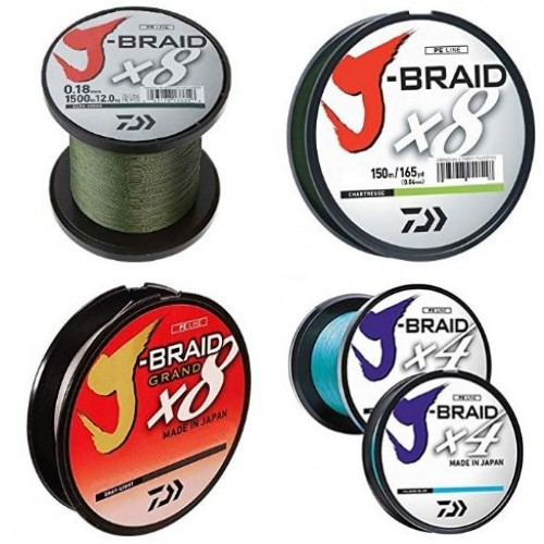 Daiwa J Braid Review: x4, x8, And x8 Grand Braided Fishing Lines