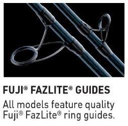 Daiwa Proteus WN Rods With Fuji Fazlite Guides