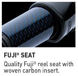 Fuji Reel Seat With Carbon Insert