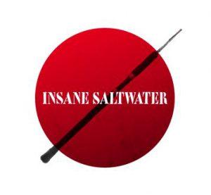 Insane Saltwater Rod Logo