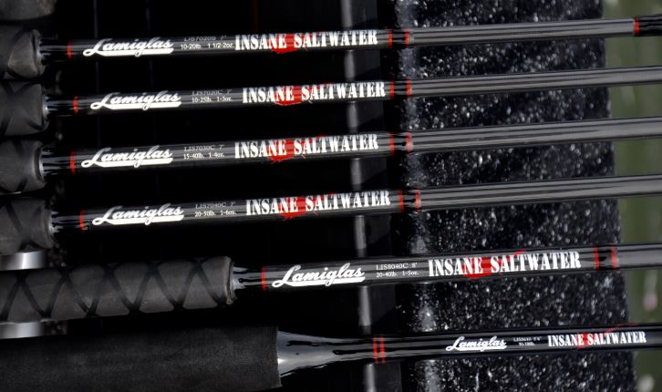 Lamiglas Insane Saltwater Rods