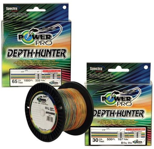 Power Pro Depth Hunter Review: 4 Colors In A 25 Foot Sequence
