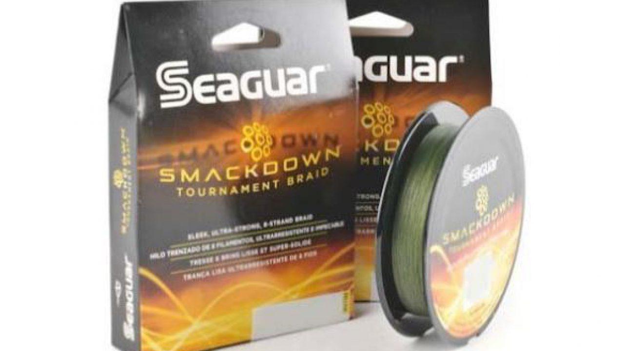 SEAGUAR Smackdown Braid Stealth Gray FISHING LINE 65lb TEST 150 YARDS