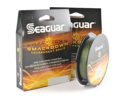 Seaguar Smackdown Braid Review: 20 LB Test At A 6 LB Mono Diameter