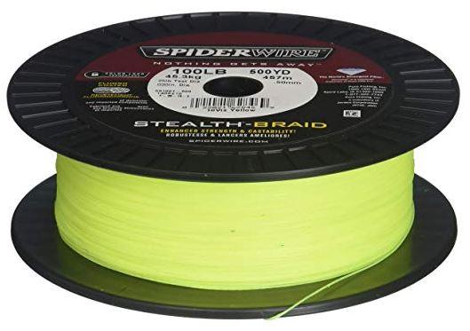 SpiderWire Stealth Hi-Vis Yellow